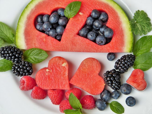 Fruit is a healthy treat for your dog